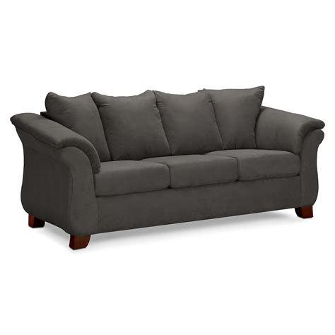 sofa couch pictures adrian sofa graphite value city furniture