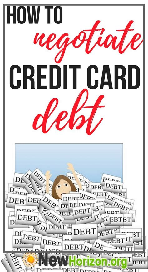 Not only does negotiating debt help lower your payments, it also helps you take control of your finances where before you may have felt powerless. How To Expertly Negotiate Credit Card Debt? | Credit cards debt, Credit card balance
