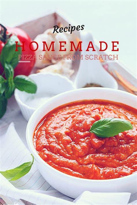 home  pizza sauce  scratch sandhyas kitchen