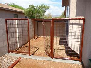 Az low cost dog runs arizona lowest cost dog runs installed for Low cost dog kennels