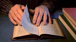 Asmr Old Book Page Turning  U0026 Flipping  Binaural
