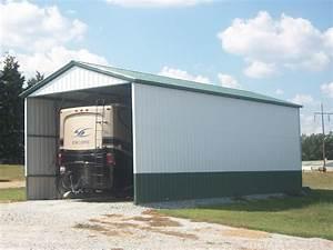 Carport Vor Garage : rv storage buildings metal rv shelters rv carports ~ Lizthompson.info Haus und Dekorationen