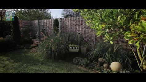 Der Bedruckte Sichtschutz Im Garten Zum