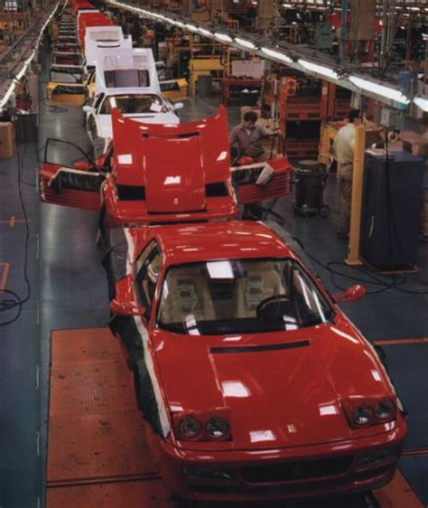 ferrari factory ferrari factory assembly line pinterest factories