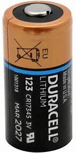 Duracell Ultra 123A DL123A CR123A 3V Lithium Battery   eBay