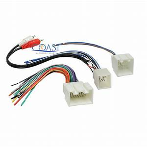 Car Radio Stereo Amp Wiring Harness With Rca For 1998