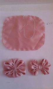 1335 best D I Y fabric flowers images on Pinterest