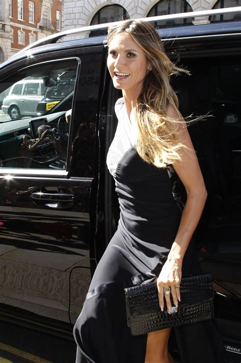 Heidi Klum Arriving Her Book Singing With Rankin