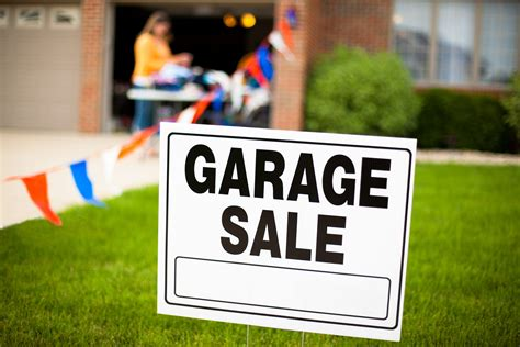 Garage Sales by Earn Thousands A Year Shopping Garage Sales Money Talks News