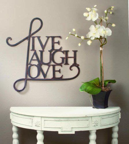 """How much does the shipping cost for laugh love wall decor? """"Live Laugh, Love"""" Wall Art by Tripar SAM http://www.amazon.com/dp/B00IK21JFA/ref=cm_sw_r_pi_dp ..."""