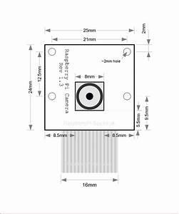 Raspberry Pi Camera Module Mechanical Dimensions
