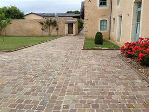 paves quotkandla brunquot gres d39inde paves allees et With pave pour allee garage