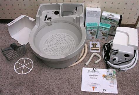 catgenie  flushing  washing cat box review