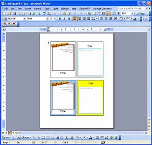 trading card reports With baseball card template microsoft word