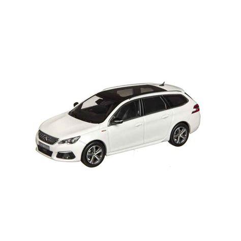 peugeot current models model peugeot new 308 sw gt line t9 1 43 white nacré