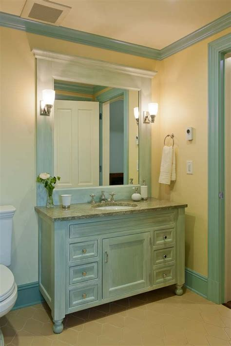 bathroom cabinetry ideas custom vanity with bun crown point cabinetry gallery