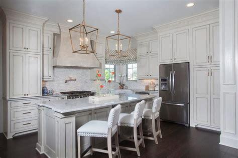kitchen  cream upper cabinets  white  cabinets
