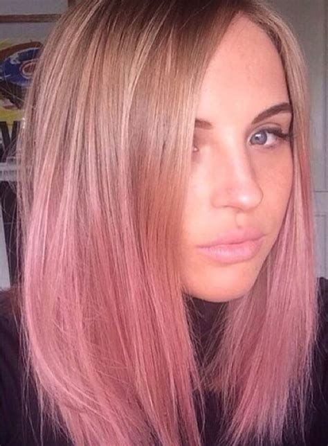 Short Pink Hair Ombre Hair Pinterest My Hair Blonde