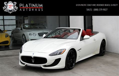used maserati 2014 maserati granturismo sport stock 6130 for sale near