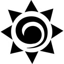 Mexican Sun Symbol