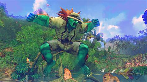 Blankas Alternate Costume In Street Fighter 4
