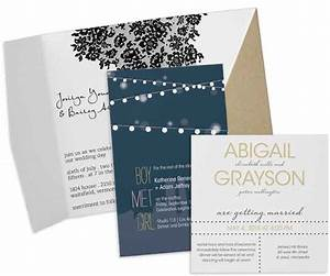Modern wedding invitations personalized contemporary for Modern wedding invitations free samples