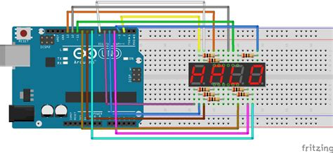 Arduino Lesson Digit Segment Led Display