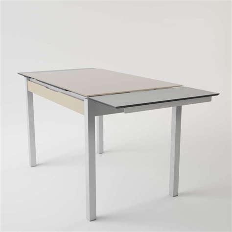 table cuisine verre tremp table basse verre relevable