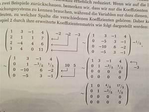 Transponierte Matrix Berechnen : gleichungssysteme mit gau verfahren l sen mathelounge ~ Themetempest.com Abrechnung