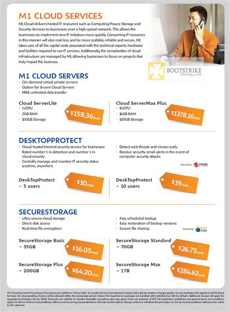 business cloud services servers desktopprotect securestorage pc show  price list