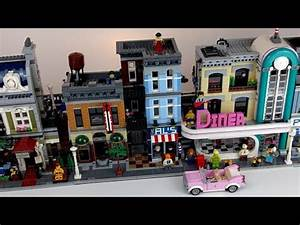 LEGO Diner 10260: LIVE-Review - YouTube