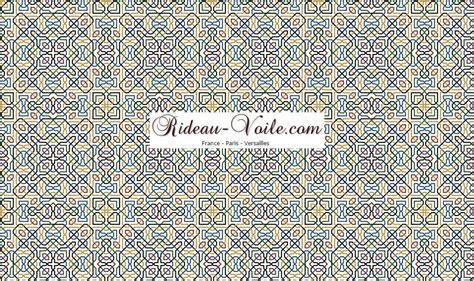 tissu motif arabe maroc