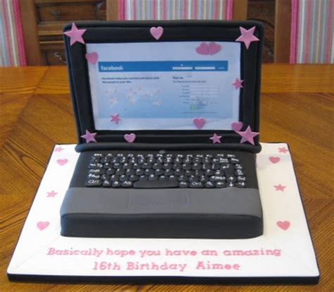 laptop cakes decoration ideas  birthday cakes