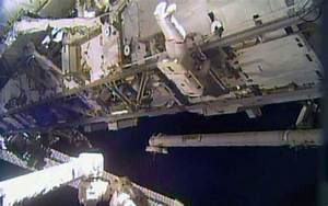 NASA astronauts make urgent spacewalk repairs | Al Jazeera ...