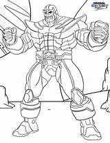 Thanos Coloring Pages Infinity Printable Para Marvel Muscles Avengers Colorear Dibujos Gauntlet Game Colorir Superheroes Navigation Super Gaunlet War Categories sketch template