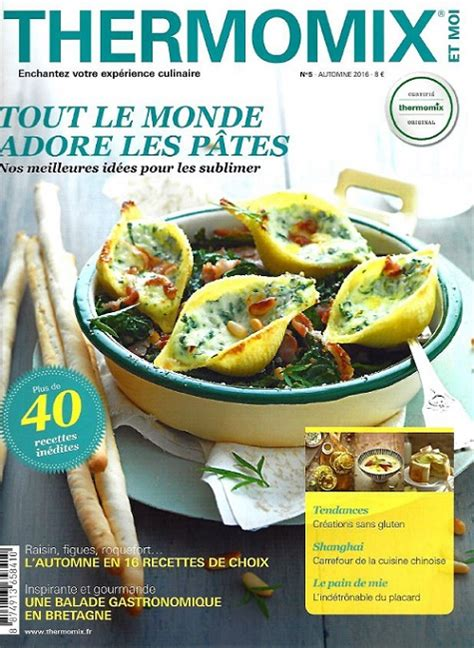 cours cuisine thermomix thermomix et moi n 5 automne 2016 telecharger livres