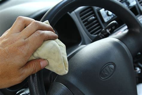 How To Clean A Steering Wheel