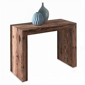 Console En Bois : table console bois meubles et atmosph re ~ Teatrodelosmanantiales.com Idées de Décoration