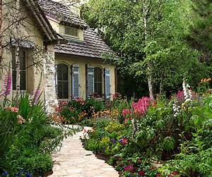 Carmel Cottage With Stone Entry Walk Through Front Garden