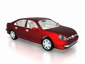 Peugeot 607 sedan car 3d model 3ds max files free download