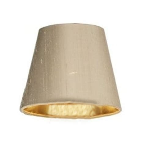 7 inch l shade david hunt lighting hidcote 7 inch 100 taupe silk candle