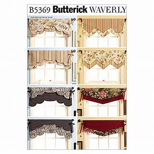 Butterick Fast & Easy Reversible Valances Pattern B5369