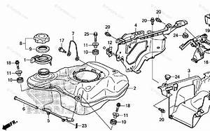Honda Atv 2014 Oem Parts Diagram For Fuel Tank