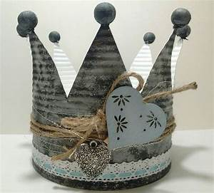 Basteln Mit Blechdosen : die besten 25 krone basteln ideen auf pinterest geburtstagskrone basteln kronen und kronen ~ Orissabook.com Haus und Dekorationen
