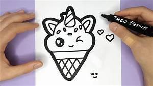 Faire Un Thé Glacé : comment dessiner et colorier une glace licorne trop ~ Dode.kayakingforconservation.com Idées de Décoration