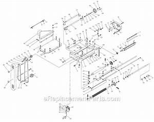 Jet Jwp-208-1 Parts List And Diagram