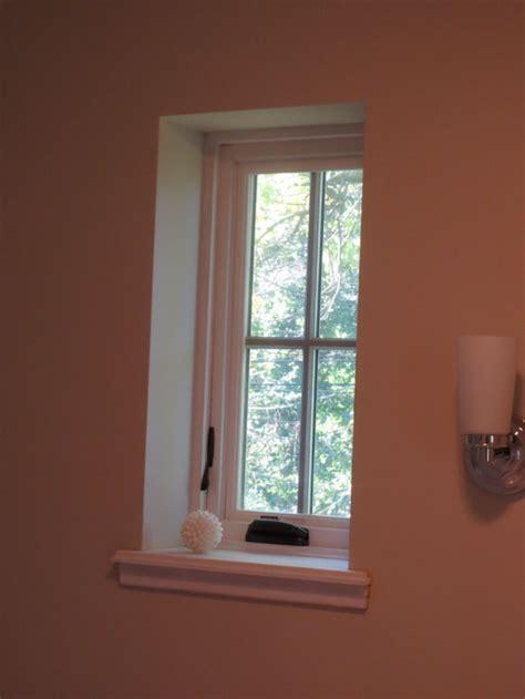 window treatment  bathroom windows