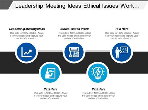leadership meeting ideas ethical issues work digital