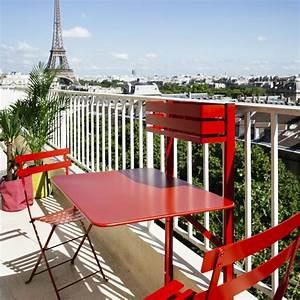 Table De Balcon Pliante : salon de balcon fermob bistro 1 table pliante 2 ~ Melissatoandfro.com Idées de Décoration