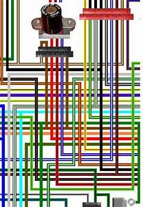Honda Vfr400 Vfr750f Large Laminated Colour Wiring Loom Diagrams